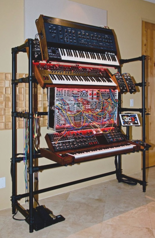 rack of keys gear omnirax keyboard studiopics index february